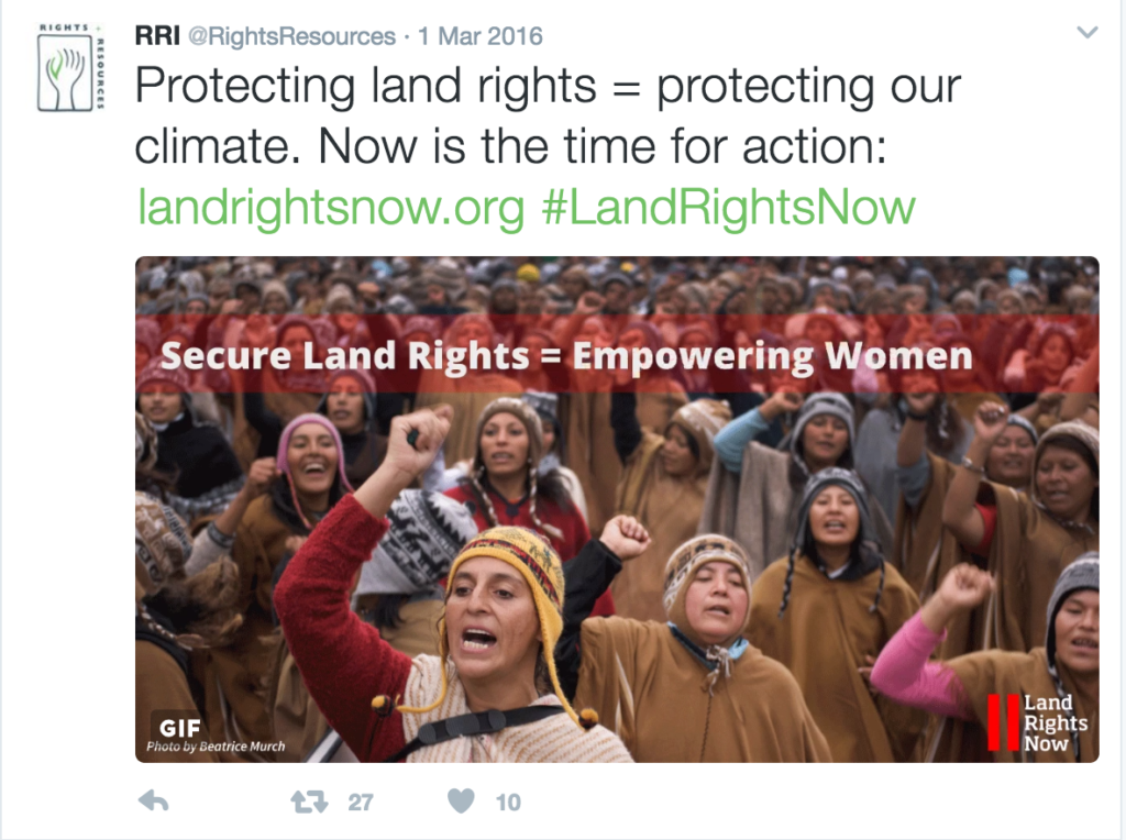 Land Rights Now Gif Tweet
