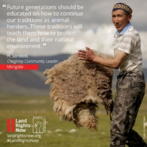 Land Rights Now_Mongolia